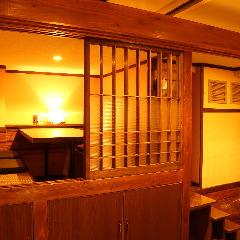 ゆったりの完全個室!最大45名様まで対応いたします。